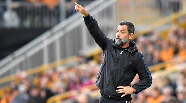 Quique Sanchez Flores was frustrated his side were unable to finish their chances (Dave Howarth/PA)