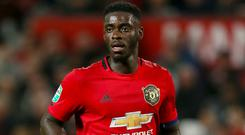 Axel Tuanzebe says Manchester United must bounce back against Liverpool (Richard Sellers/PA).
