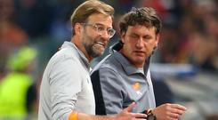 Liverpool manager Jurgen Klopp (left) and assistant Peter Krawietz have helped turn the club's fortunes around (Steven Paston/PA)