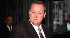 Newcastle owner Mike Ashley found himself in Labour leader Jeremy Corbyn's firing line (Kirsty O'Connor/PA)