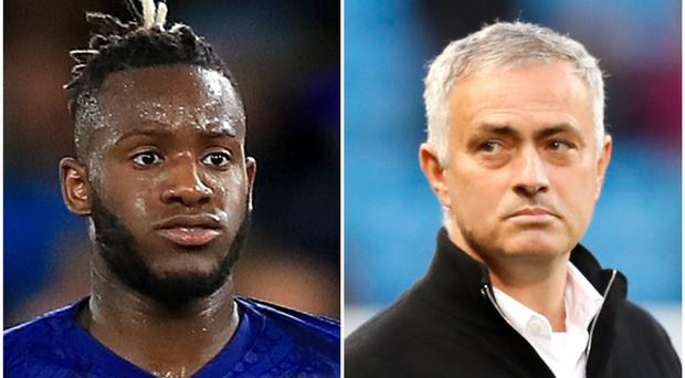 Michy Batshuayi and Jose Mourinho feature in Wednesday's rumours (Simon Cooper/Martin Rickett/PA)