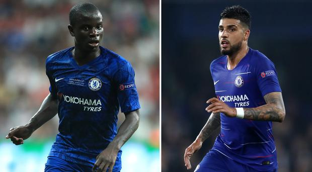 N'Golo Kante and Emerson Palmieri have been linked with moves away from Chelsea (Adam Davy/Tim Goode/PA)