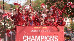 Liverpool are set for another Premier League title challenge (Barrington Coombs/PA)