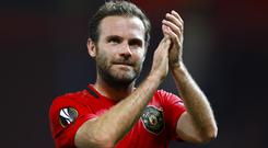 Juan Mata hopes Manchester United can change the course of their season with victory over Liverpool (Martin Rickett/PA)