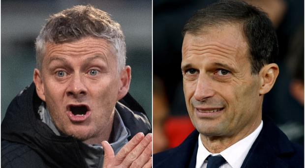 Is Ole Gunnar Solskjaer about to be replaced by Massimiliano Allegri? (MArtin Rickett/PA)