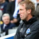 Graham Potter believes there is more to come from Brighton (Gareth Fuller/PA)