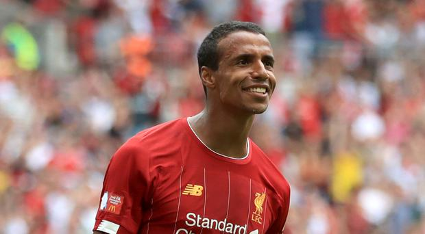 Defender Joel Matip has signed a new contract with Liverpool (Adam Davy/PA)