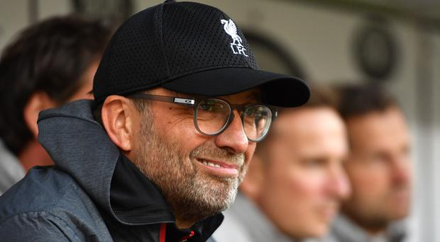 Liverpool manager Jurgen Klopp has no concerns about his record at Old Trafford (Anthony Devlin/PA)