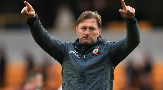 Ralph Hasenhuttl was delighted with Saints' point (Mike Egerton/PA)