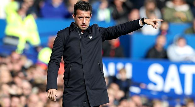 Marco Silva believes Everton's victory over West Ham can be a 'turning point' in their season (Martin Rickett/PA)