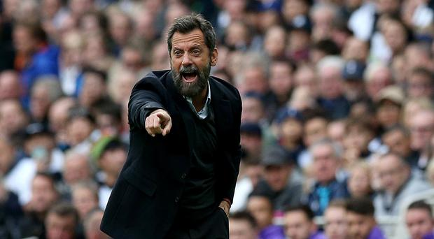 Quique Sanchez Flores is still searching for his first league win since returning to Watford in September (Jonathan Brady/PA)