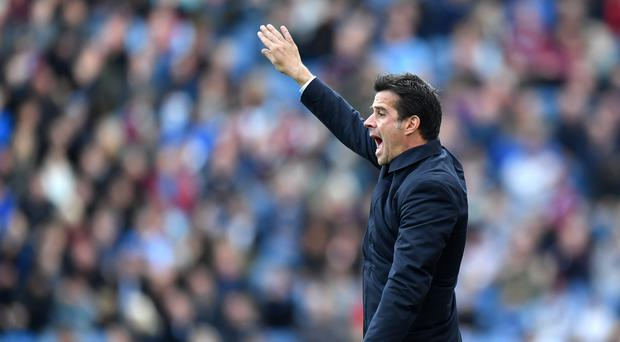 Marco Silva has demanded better from Everton away from home (Anthony Devlin/PA)