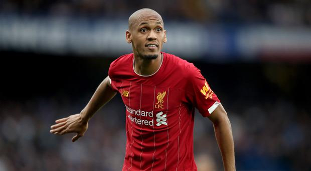 Fabinho is Liverpool's keystone midfielder (Nick Potts/PA)