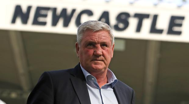 Newcastle head coach Steve Bruce is confident there is more to come from Allan Saint-Maximin (Owen Humphreys/PA)
