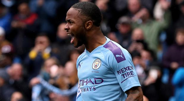 Raheem Sterling continues to shine for Manchester City (Martin Rickett/PA)