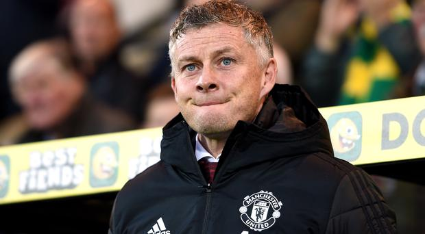 Manchester United manager Ole Gunnar Solskjaer said his side did not deserve their first penalty in their 3-1 win at Carrow Road (Joe Giddens/PA)