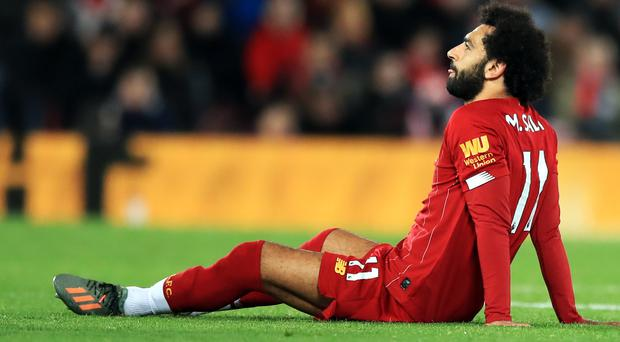 Mohamed Salah's (pictured) ankle problem is not serious, according to manager Jurgen Klopp (Peter Byrne/PA)