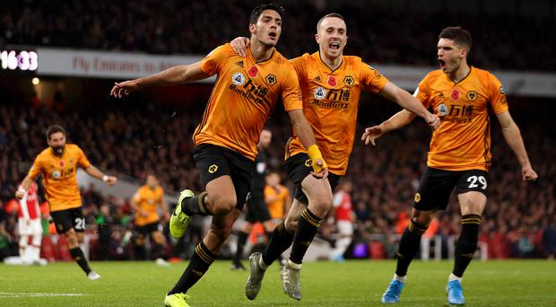 Raul Jimenez scored the equaliser (Paul Harding/PA)