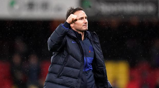 Chelsea boss Frank Lampard has voiced his concerns about VAR (John Walton/PA)