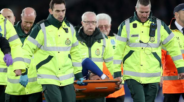 Andre Gomes sustained a potentially season-ending injury against Tottenham (Nick Potts/PA)