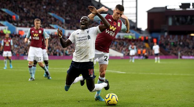 Liverpool forward Sadio Mane will not change the way he plays despite Pep Guardiola's diving allegations (Nick Potts/PA)