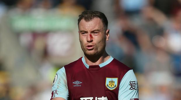Burnley striker Ashley Barnes wants to see out his career at Turf Moor (Richard Sellers/PA)