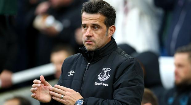 Everton manager Marco Silva has urged his players not to lose focus (Gareth Fuller/PA)