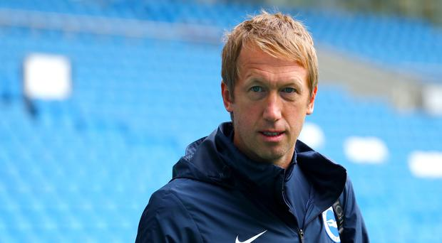 Graham Potter takes his side to Manchester United on Sunday (Gareth Fuller/PA)