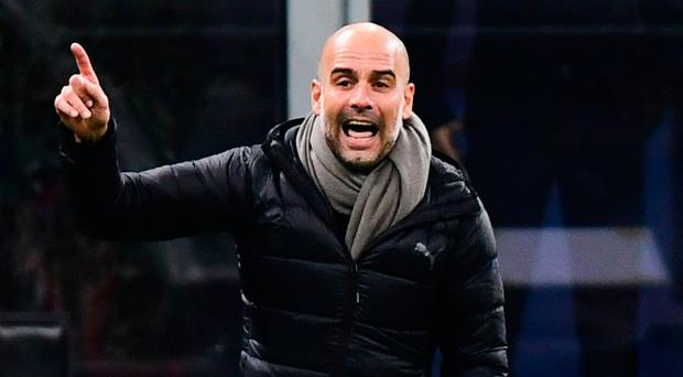 New focus: Pep Guardiola (pictured) andJurgen Klopp are perfecting the art of transitional play