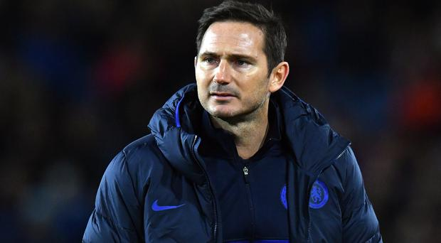 Frank Lampard was named Premier League manager of the month for October (Anthony Devlin/PA)