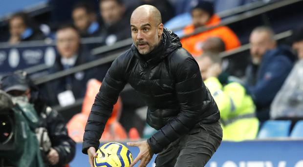 Pep Guardiola has revealed he has never gone into a game expecting to lose (Martin Rickett/PA)