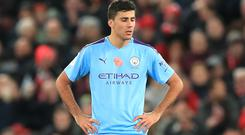 Rodri is confident Manchester City can bounce back (Peter Byrne/PA)