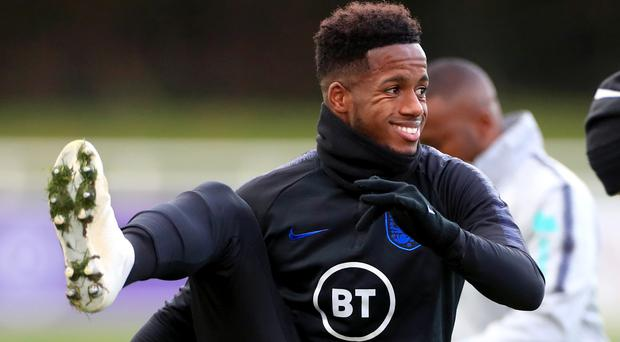 England Under-21s' Ryan Sessegnon is back after a hamstring injury (Mike Egerton/PA)