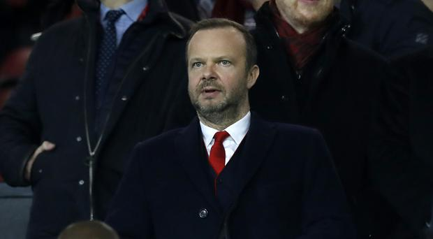 Manchester United executive vice-chairman Ed Woodward (Martin Rickett/PA)