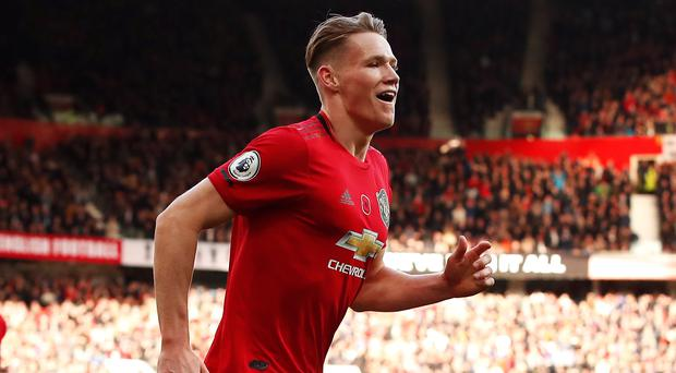 Manchester United midfielder Scott McTominay believes the season has a more positive outlook to it (Martin Rickett/PA)