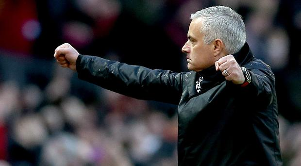 Jose Mourinho is the new Tottenham manager after being appointed on a three-and-a-half-year deal (Barrington Coombs/PA)