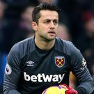 Lukasz Fabianski has been out for almost two months (Richard Sellers/PA)