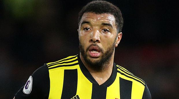 Troy Deeney could start for Watford against Burnley (Nigel French/PA)