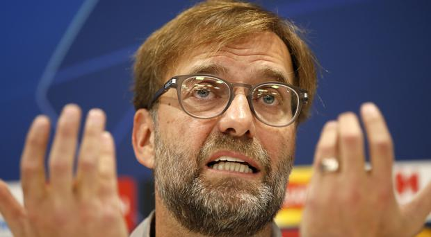 Liverpool manager Jurgen Klopp is staying grounded (Martin Rickett/PA)