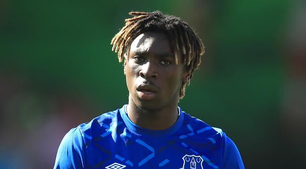Moise Kean joined Everton from Juventus in the summer (Adam Davy/PA)