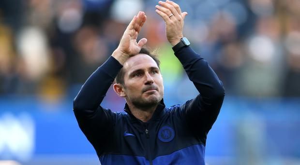 Frank Lampard is pleased he always retained the affections of Chelsea fans (Steven Paston/PA)