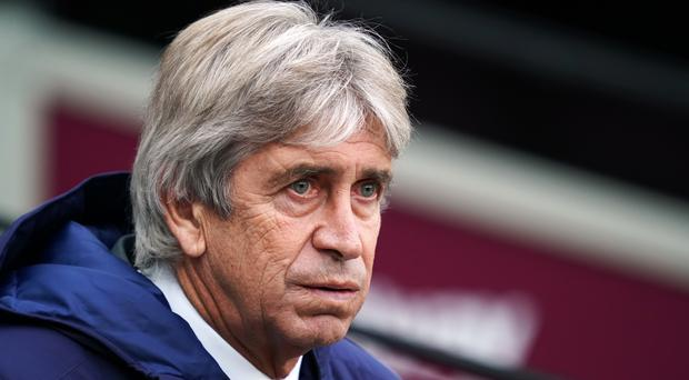 Manuel Pellegrini is under pressure (John Walton/PA)