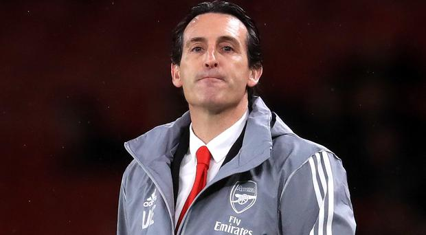 Unai Emery lost his job as Arsenal boss after failing to win any of his last seven games (Adam Davy/PA)