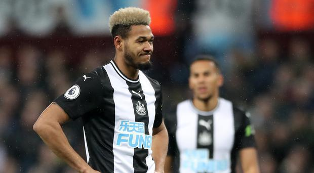 Newcastle United's Joelinton has found goals hard to come by (Nick Potts/PA)