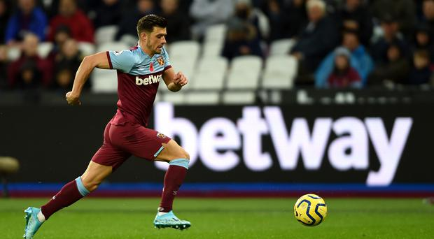 Aaron Cresswell scored the winner against Chelsea (Daniel Hambury/PA)
