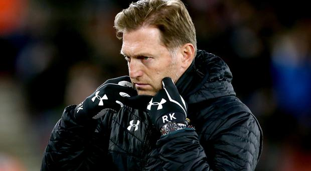 Southampton manager Ralph Hasenhuttl enjoyed some welcome relief on Saturday (Mark Kerton/PA)