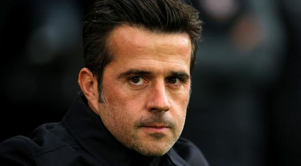 Marco Silva is under pressure (Mark Kerton/PA)