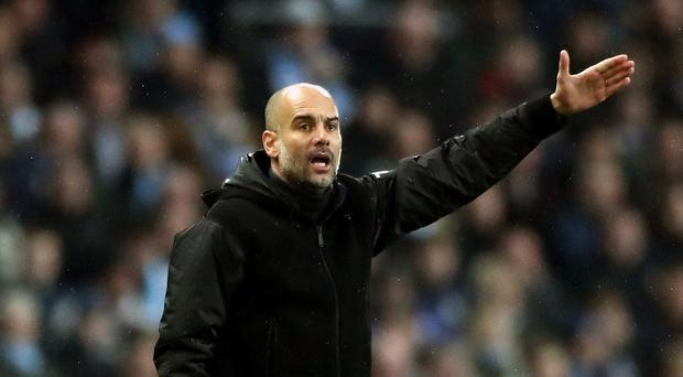 Manchester City manager Pep Guardiola has ruled out strengthening his squad in January (Nick Potts/PA)