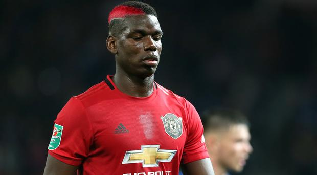 Paul Pogba will not feature on Wednesday (Richard Sellers/PA)