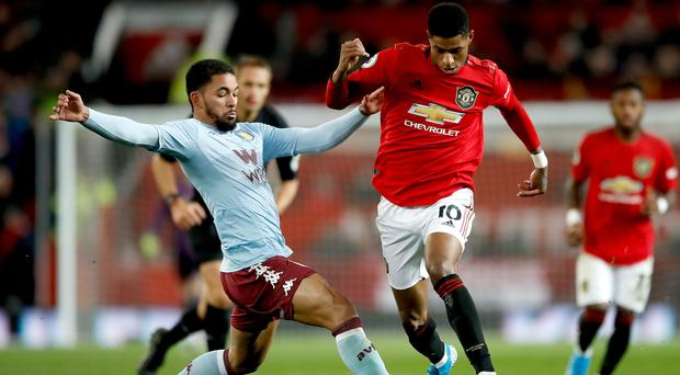 Premier League stars like Marcus Rashford, right, will get a weekend off in February (Martin Rickett/PA)